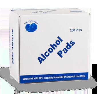 alcohol pads